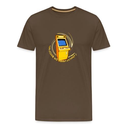 Welcome to Warp Zone ! - Männer Premium T-Shirt