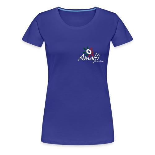 T-shirt Donna Amalfi Italy  - Maglietta Premium da donna