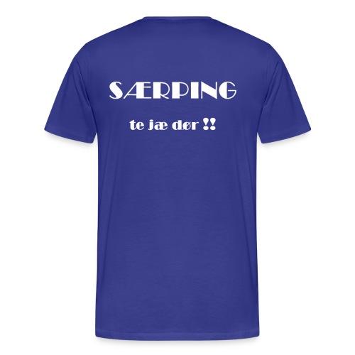 Blå og Stolt 2010 - 029 - Premium T-skjorte for menn