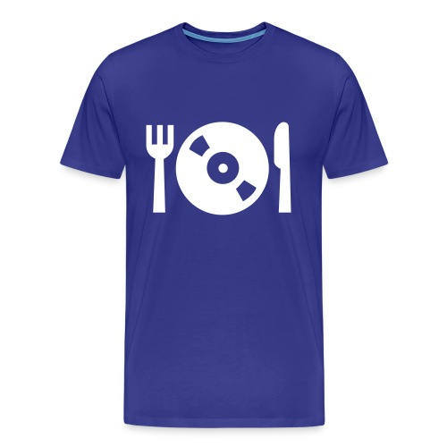 MUSIC IS MY FOOD  - Maglietta Premium da uomo