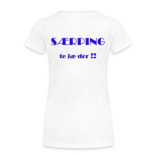 Blå og Stolt 2010 - 018 - Premium T-skjorte for kvinner