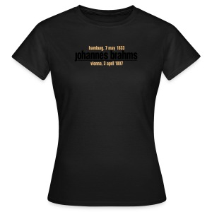 Brahms Girl Choco Lmt. Edition - Women's T-Shirt