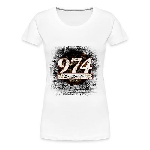 974 - T-shirt Premium Femme