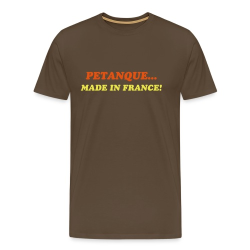 PETANQUE FASHION TSHIRT - Men's Premium T-Shirt