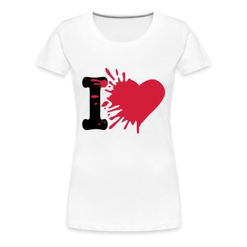 100% COTTON T-SHIRT  - Women's Premium T-Shirt