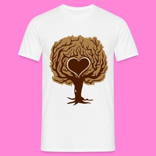 Love tree - Mannen T-shirt