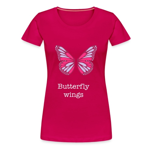 butterfly wings - Women's Premium T-Shirt