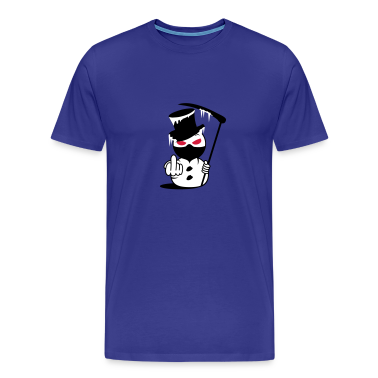 Evil Snowman  Fuck you Men's T-Shirts