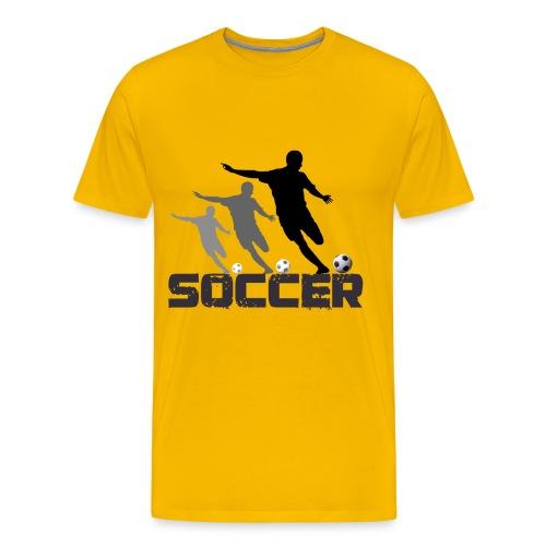 Football, soccer shirt - Men's Premium T-Shirt