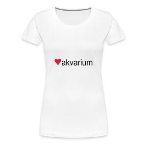 Elsker akvarium! - Premium T-skjorte for kvinner