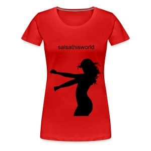 Salsathisworld - Women's Premium T-Shirt