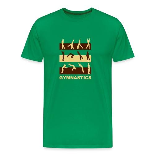 Gymnastics - Männer Premium T-Shirt