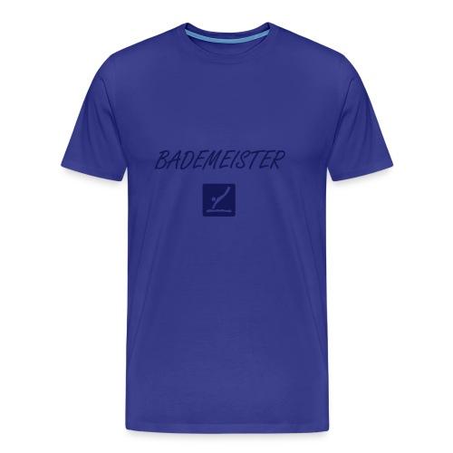 Bademeister + Backprint - Männer Premium T-Shirt
