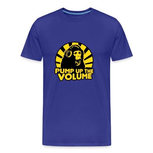 Pump up the Volume Männer T-Shirt - Männer Premium T-Shirt