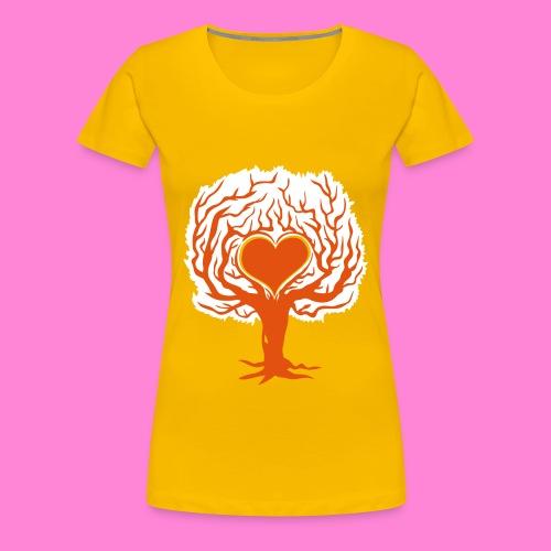 Love tree 2 - Vrouwen Premium T-shirt