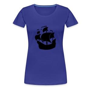 Ship Womens Classic T-Shirt - Women's Premium T-Shirt
