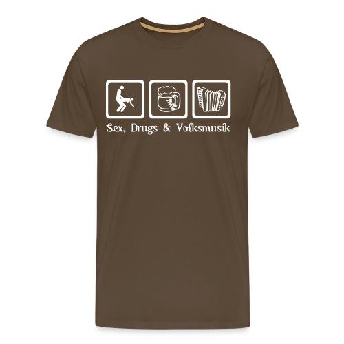 Sex, Drugs und Volksmusik - Männer - Männer Premium T-Shirt