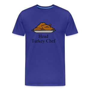Head Turkey Chef - Men's Premium T-Shirt