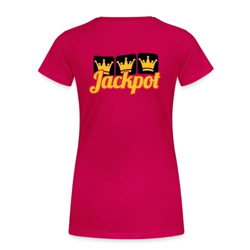 Jackpot - Maglietta Premium da donna
