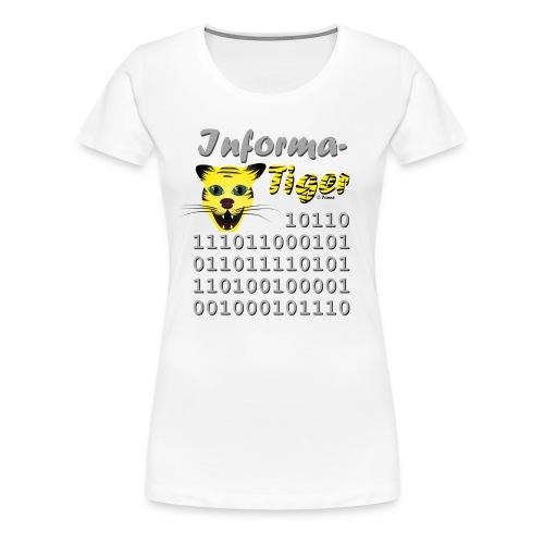 InformaTiger (w) - Frauen Premium T-Shirt