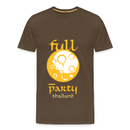 T-Shirts ~ Men's Premium T-Shirt ~ Full Moon Party Thailand for men with style
