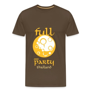 Full Moon Party Thailand for men with style - Men's Premium T-Shirt