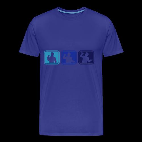 Belt-Cool Colours - Men's Premium T-Shirt