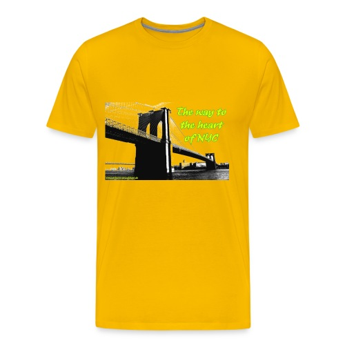 way to NewYork - Männer Premium T-Shirt