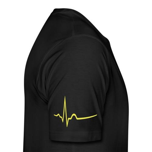 Männer Premium T-Shirt - radioaktiv,gothic,cybergothic,cybergoth,cyber,biohazard