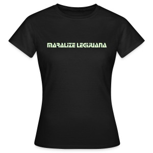 Maralize Legijuana (Glow in the dark) - Girlieshirt klassisch - Frauen T-Shirt