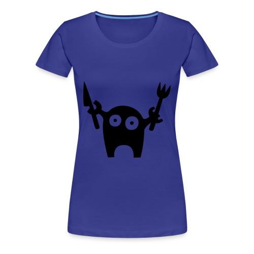 Hungry. - Women's Premium T-Shirt