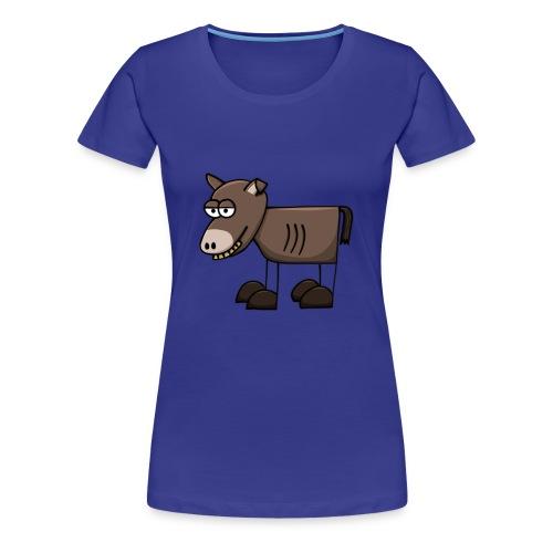 Esel-Shirt für Sie - Frauen Premium T-Shirt