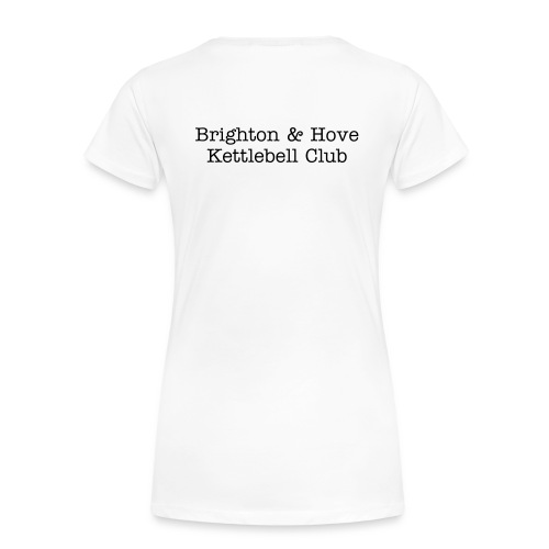 Womens Friend Black Text - Women's Premium T-Shirt