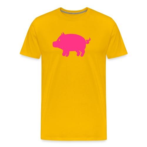 cerdito - Camiseta premium hombre