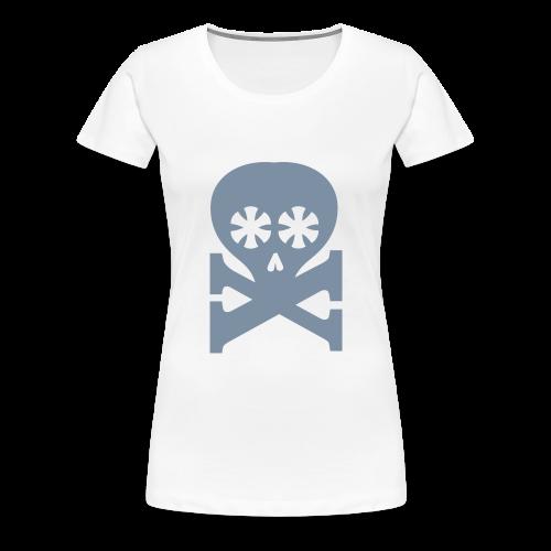 girlieshirt, typoskull - Frauen Premium T-Shirt