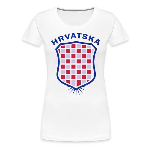 Croatia 2 - Women's Premium T-Shirt