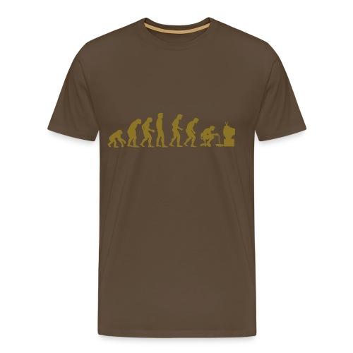 Tshirt geek : nerd - T-shirt Premium Homme