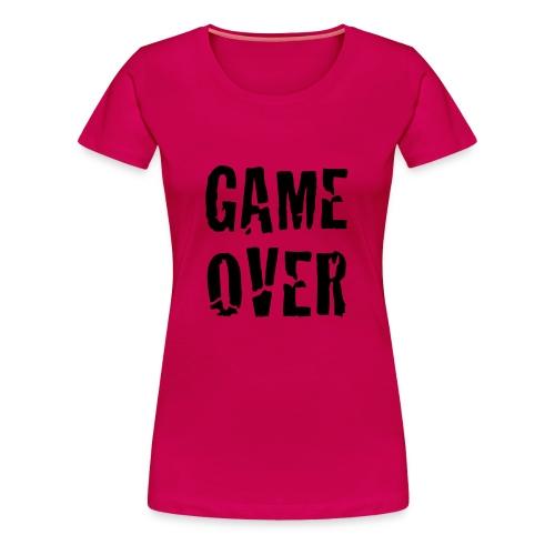 fhashion game over - Camiseta premium mujer
