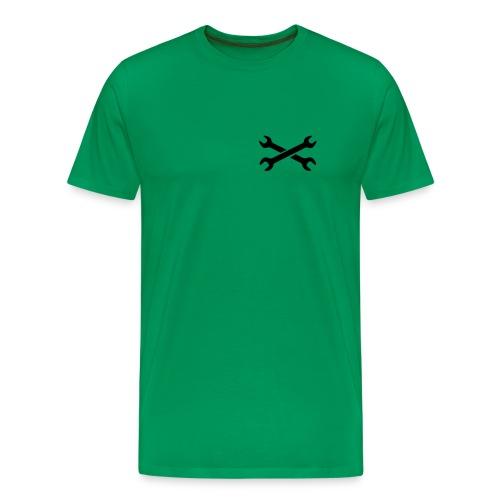 Kackstuhl Shirt Rodge, oliv - Männer Premium T-Shirt