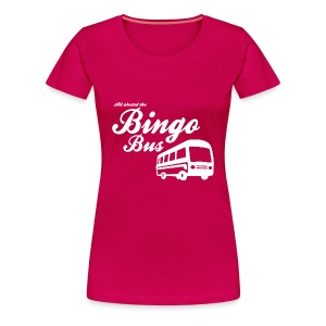 Bingo Bus - Women's Premium T-Shirt