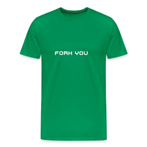 Fork you - T-shirt Premium Homme