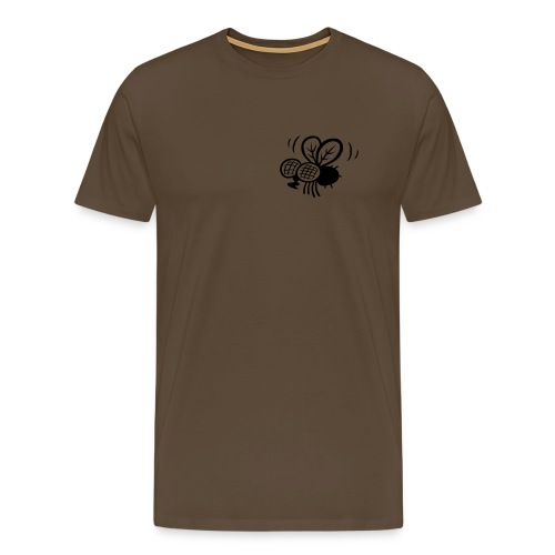 Kackstuhl Shirt, braun - Männer Premium T-Shirt