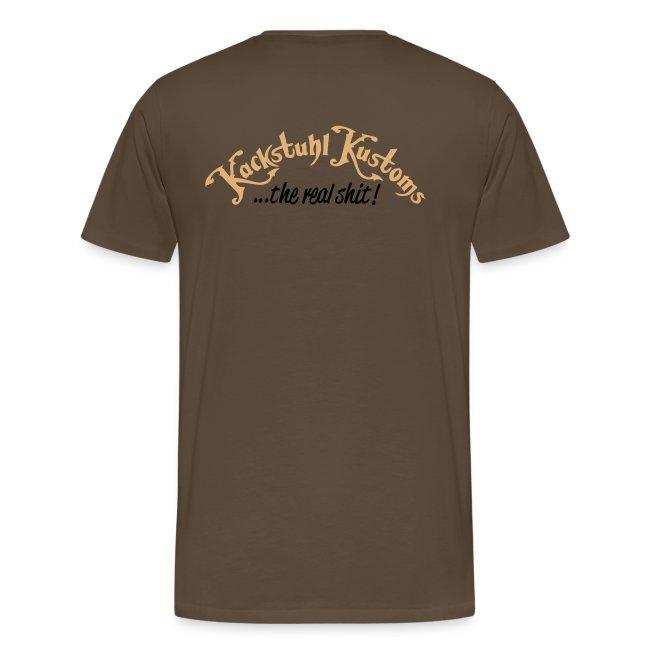 Kackstuhl Shirt, braun