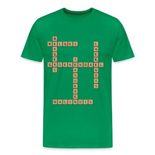 Scrabble - T-shirt Premium Homme