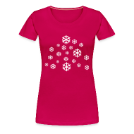 T-shirts ~ Vrouwen Premium T-shirt ~ Sneeuw
