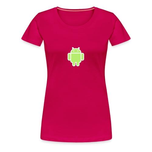 GirlDroid - T-shirt Premium Femme