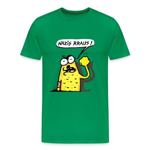 Wilmolf - Männer Premium T-Shirt