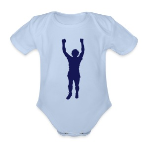 BILLY STATUE - Organic Short-sleeved Baby Bodysuit
