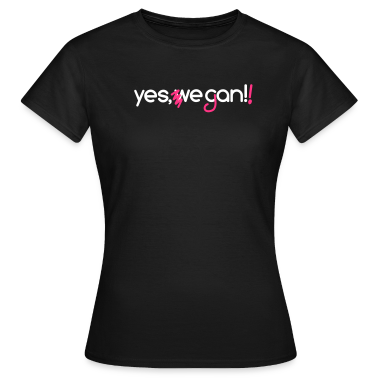 Yes, we can vegan! + neon pink