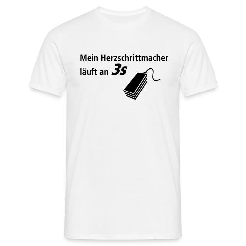 Schrittmacher - Männer T-Shirt